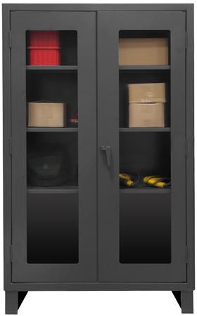 Heavy Duty Clearview Lockable Storage Cabinet Heavy Duty
