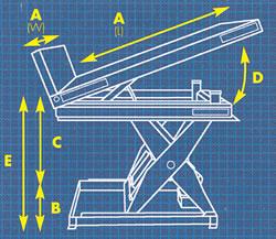 E Z Reach Lift Amp Tilt Tables Lift Table Lift Tables