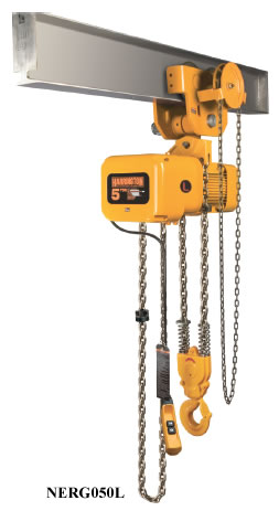 Electric Chain Hoists With Geared Trolley Electric Hoist