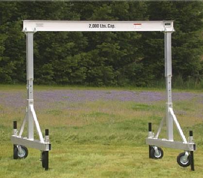 Portable Aluminum Gantry Cranes Mobile Gantry Crane All