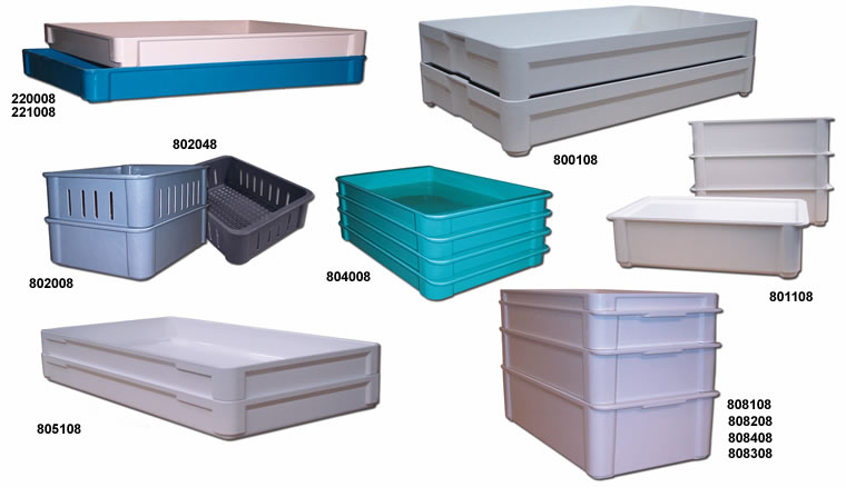 Stacking Trays Fiberglass Boxes Stacking Containers